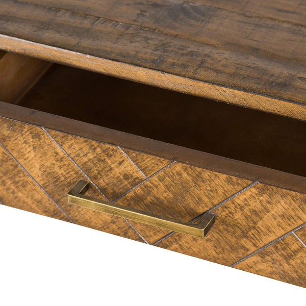 Montegoh Two Drawer Console Table-I Love Retro