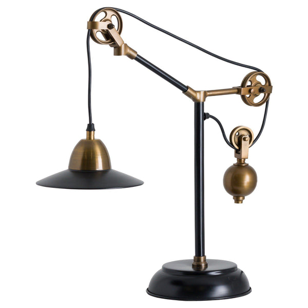 Sherlock Adjustable Pulley Table Lamp-I Love Retro