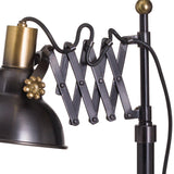Sherlock Adjustable Scissor Table Lamp-I Love Retro