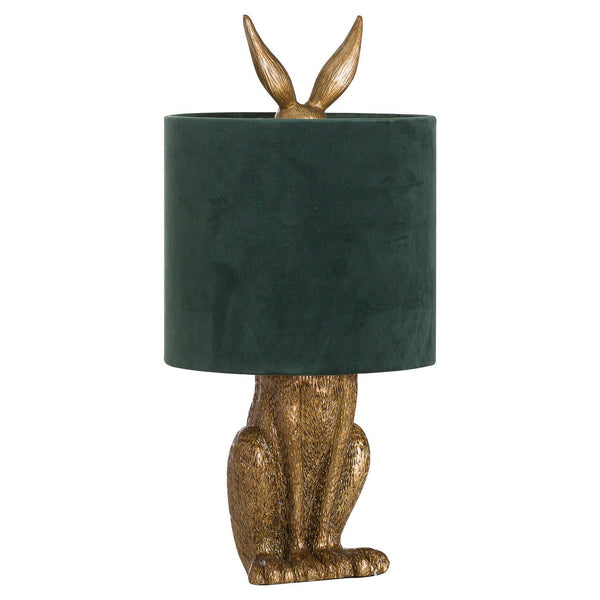 Flicker Hare Lamp and Shade-I Love Retro