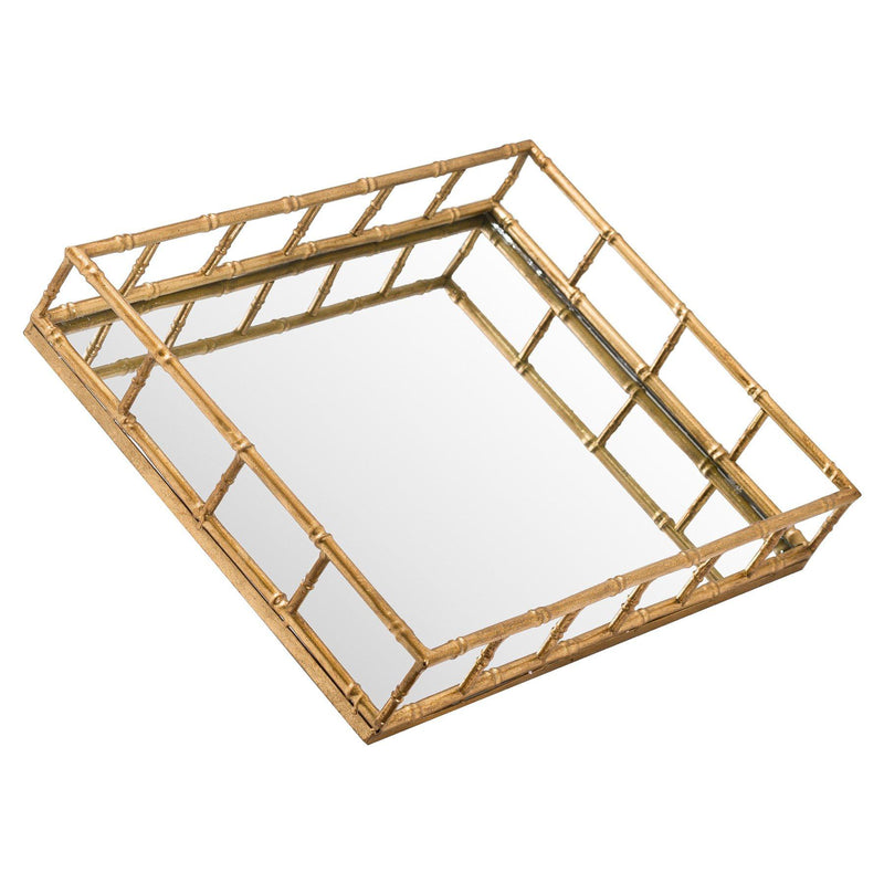 Seymour Two Detailed Rectangular Trays-I Love Retro