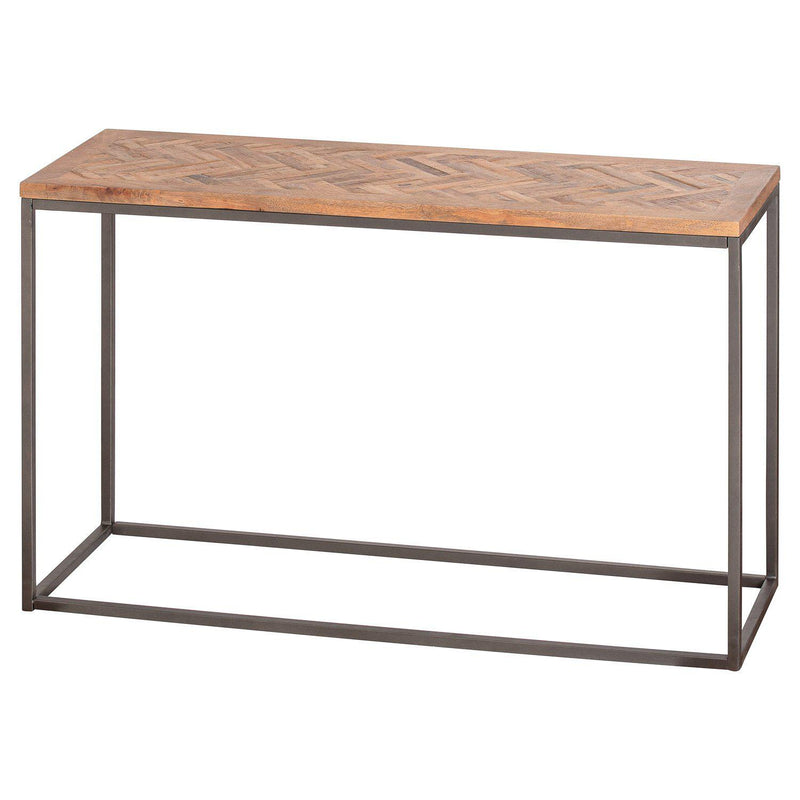 Brixton Parquet Console Table-I Love Retro