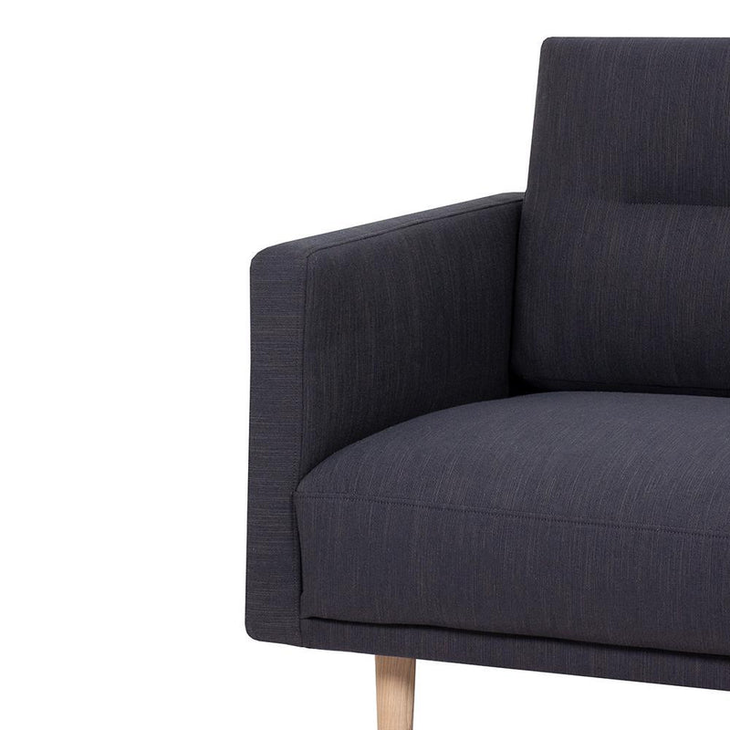 Bergen Wide Two Seater Nordic Sofa Oak Legs-I Love Retro