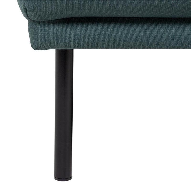 Bergen Three Seater Nordic Sofa Black Legs-I Love Retro