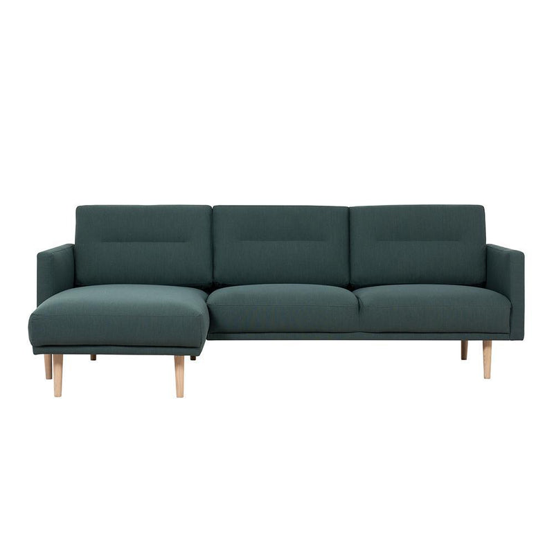 Bergen Large L Shaped (LH) Nordic Sofa Oak Legs-I Love Retro