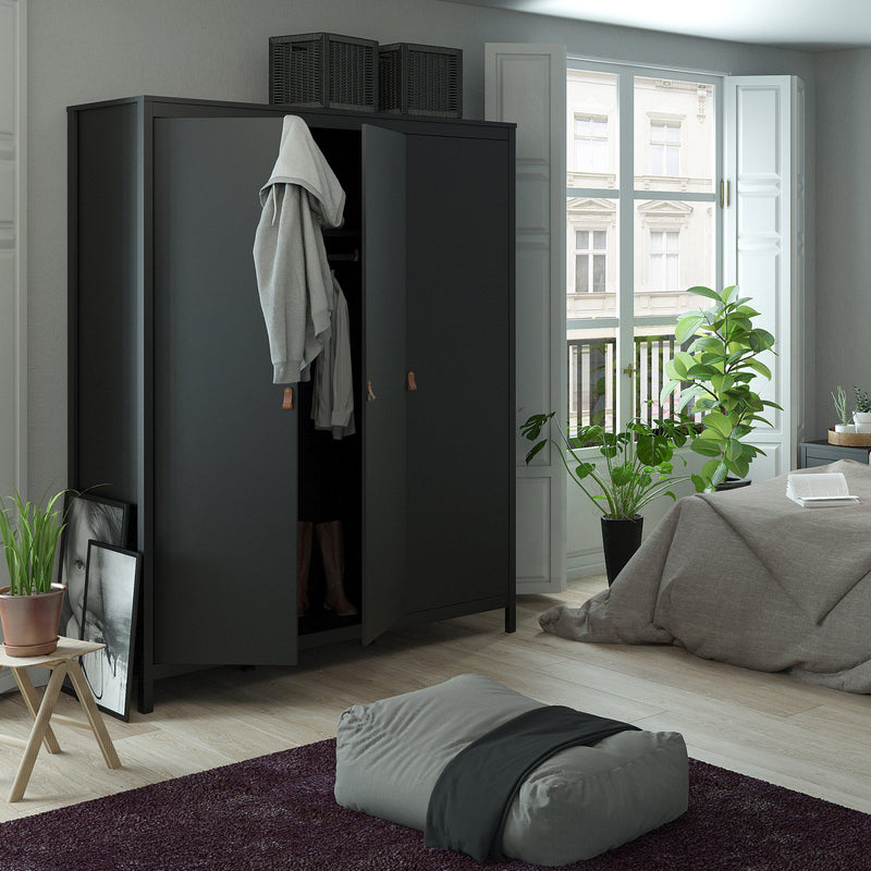 Fira Three Door Wardrobe-I Love Retro