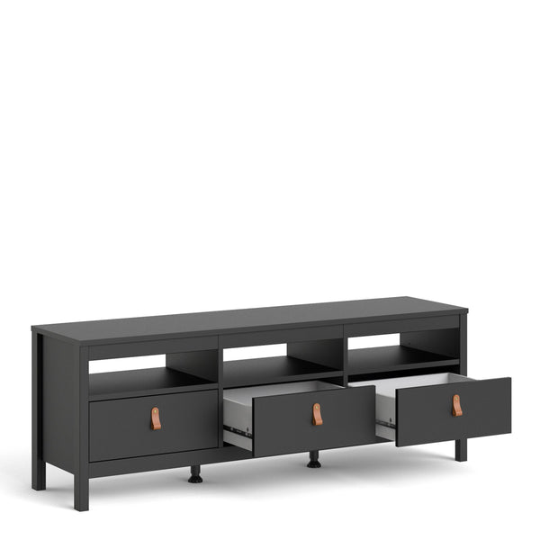 Fira Three Drawer TV Unit-I Love Retro