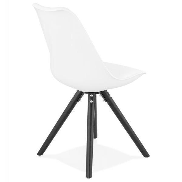 Silka Slim Black Leg Tulip Dining Chair-I Love Retro