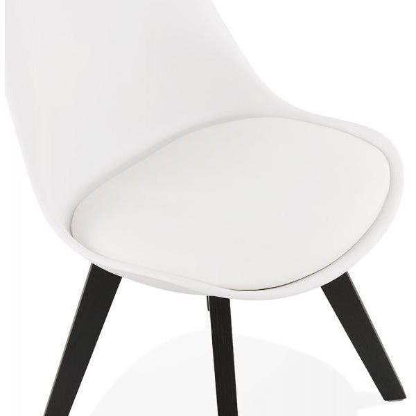 Silka Black Leg Tulip Dining Chair-I Love Retro