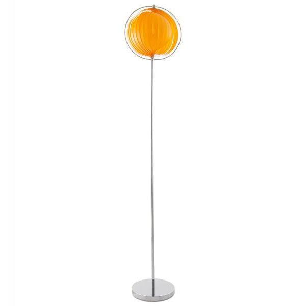 Nerva Retro Fan Segment Ball Floor Lamp-I Love Retro