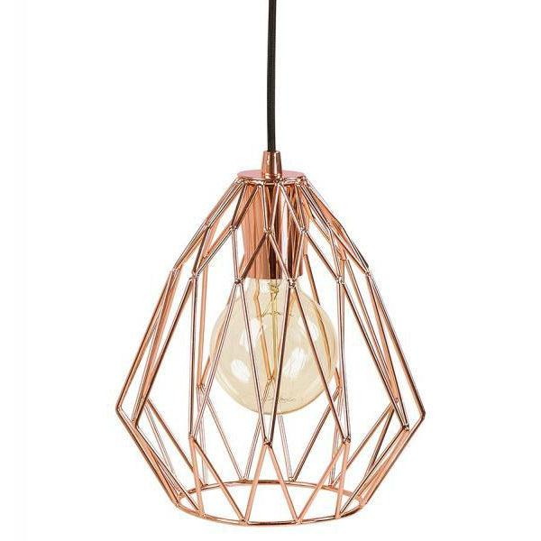 Lintal Cage Pendant Ceiling Light-I Love Retro