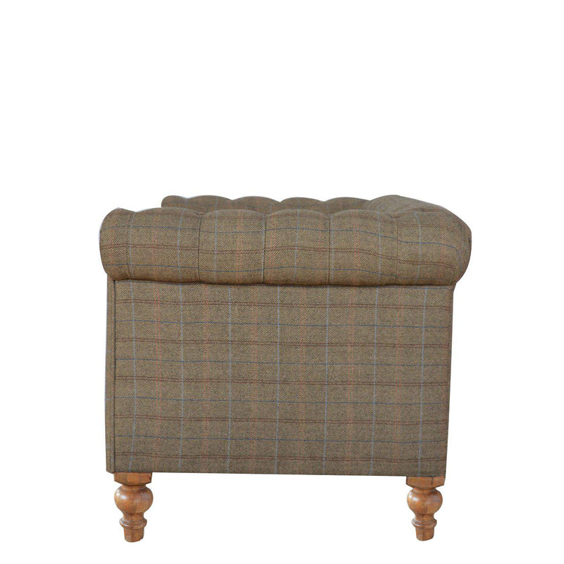 Madeleine Mixed Tweed Chesterfield Sofa-I Love Retro