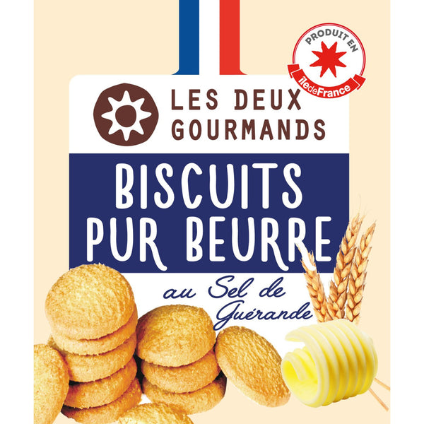 Biscuits nature pur beurre 150g