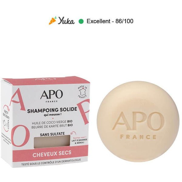 Shampoing solide  cheveux secs - 75g