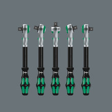 "Load image into Gallery viewer, WERA 8100 SC 2 Zyklop Speed Ratchet Set, 1/2"" drive, metric"