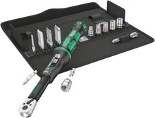 Load image into Gallery viewer, WERA Click-Torque A6 Set 1, Click-Torque Wrench in textile box+bits+sockets