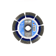 "Load image into Gallery viewer, DIAMOND CUTTING DISC 4"" FOR CONSTRUCTION, CONCRETE AND STONE"