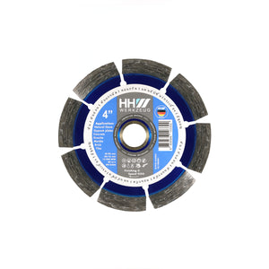 "DIAMOND CUTTING DISC 4"" FOR CONSTRUCTION, CONCRETE AND STONE"