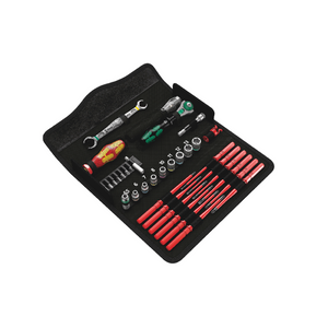 WERA Kraftform Kompakt W 1 Maintenance, Bit set with handle and inter-changeable blades