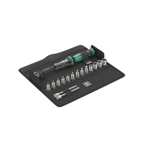 WERA Bicycle Set Torque 1, Click-Torque Wrench in textile box+sockets