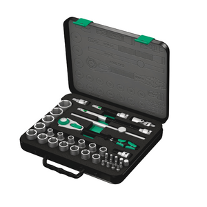 "WERA 8100 SC 2 Zyklop Speed Ratchet Set, 1/2"" drive, metric"