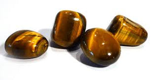 Tiger-eye crystal tumblestone