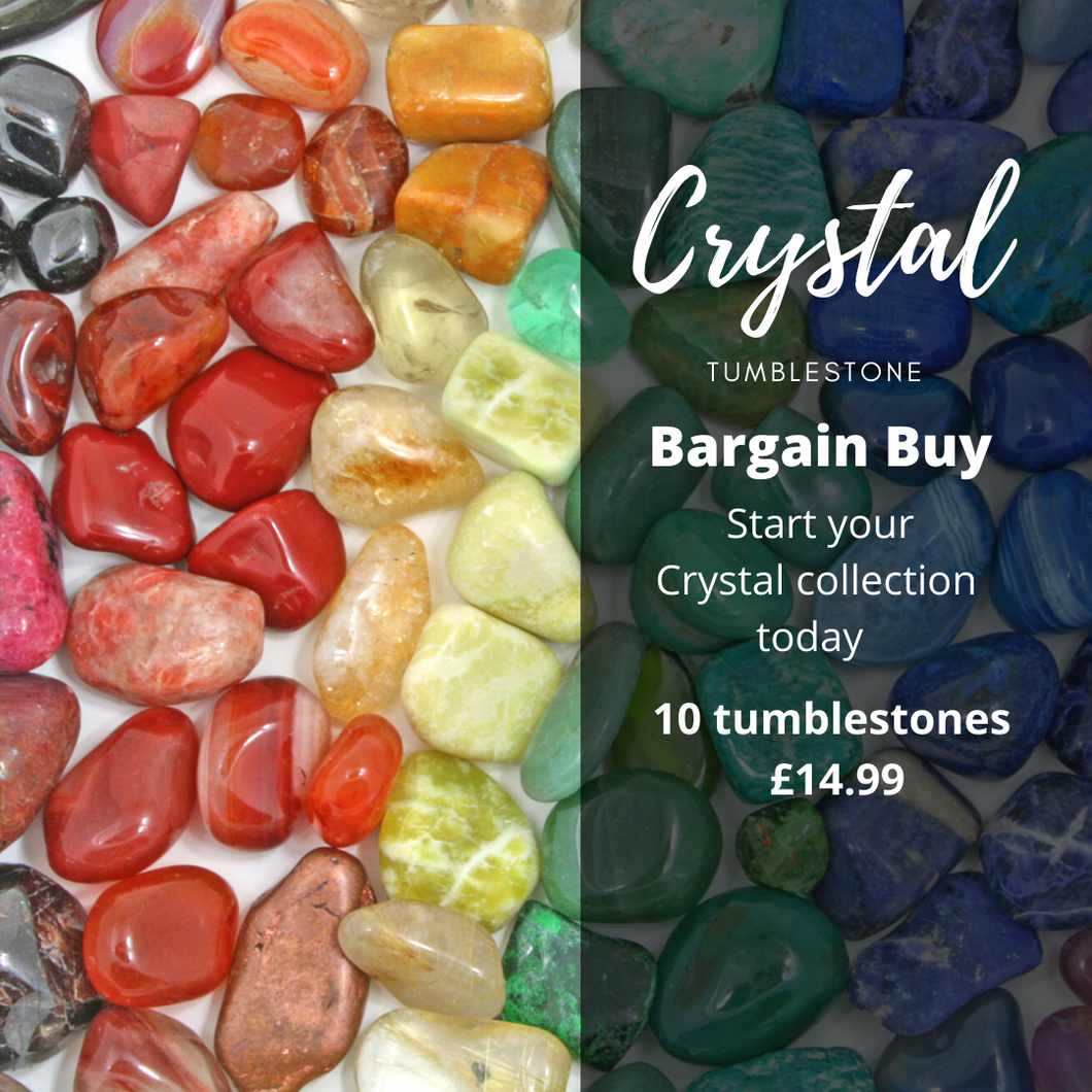 Crystal Tumblestone special offer