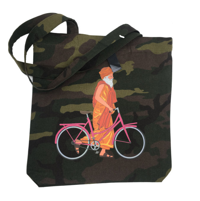 shopping bag camo santone