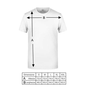 t-shirt white roads m_santone black
