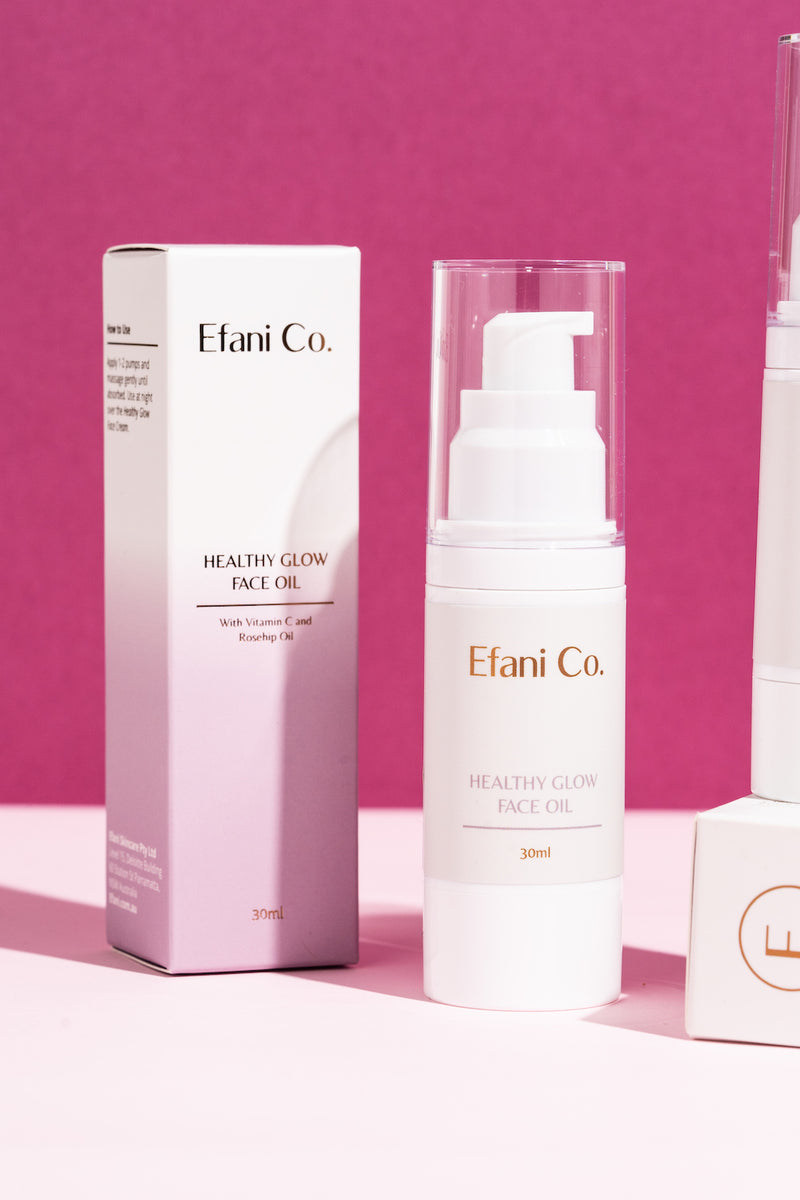 Buy Natural Skin Care Healthy Glow Face Oil Efani Co. 4