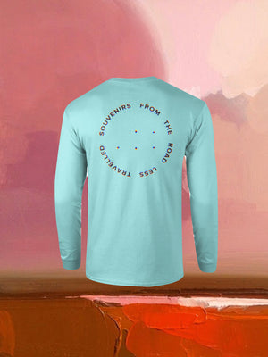 Open image in slideshow, SOUVENIRS LONG SLEEVE BLUE