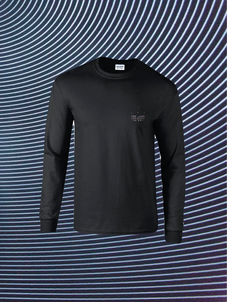 SOUVENIRS LONG SLEEVE BLACK