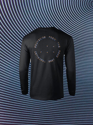 Open image in slideshow, SOUVENIRS LONG SLEEVE BLACK