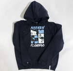 Abstract Flamingo Hoodie