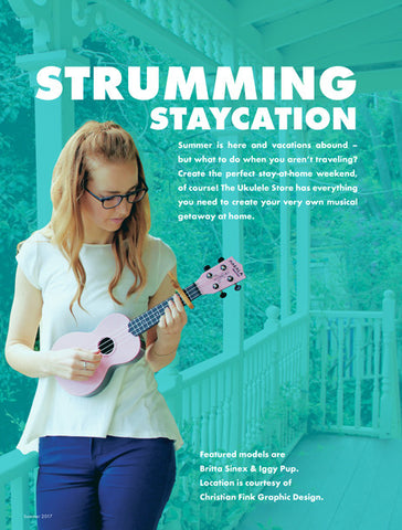 Strumming Staycation Catalog