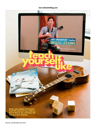 Teach Yourself Uke Catalog
