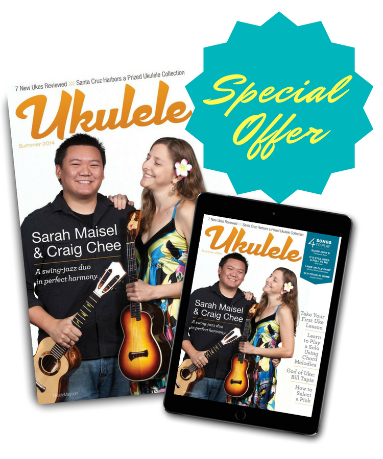 Special Ukulele Magazine Subscription Offer