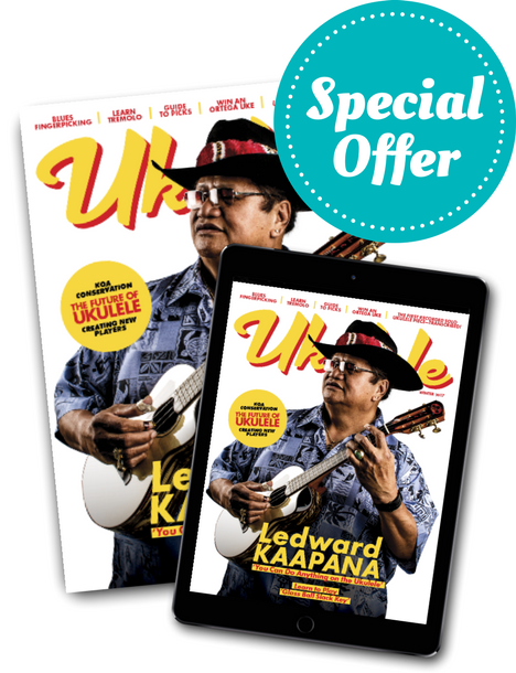 Kanile'a Special Ukulele Magazine Subscription Offer