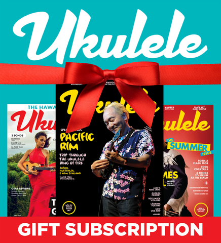 Ukulele Magazine Gift Subscription