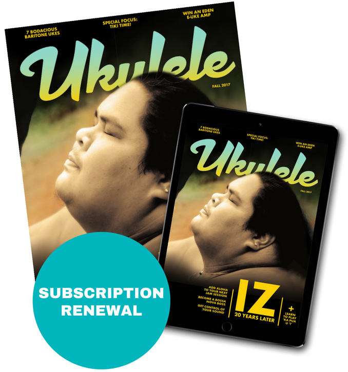 Ukulele Magazine Subscription Renewal