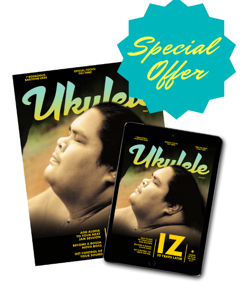 Ukulele Magazine Subscription - GITC Offer