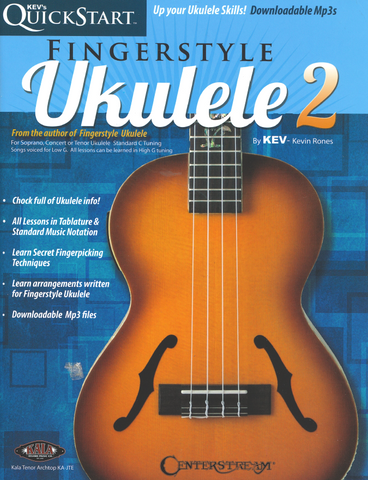Kev's Fingerstyle Ukulele Vol. 2