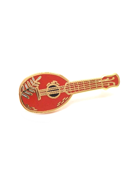 Pineapple Ukulele Pin