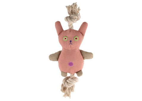 Simply Fido Natural Canvas Bunny