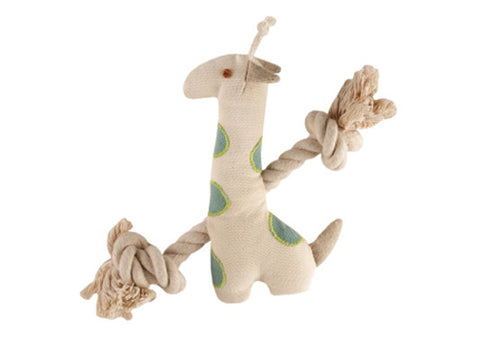 Simply Fido Natural Canvas Giraffe