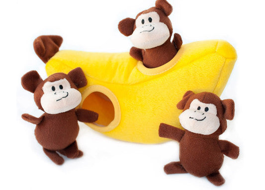 Zippy Burrow Monkey 'n Banana