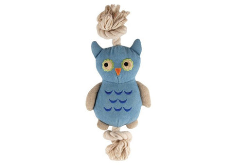 Simply Fido Natural Canvas Owl