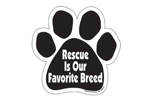 Rescue is Our Favorite Breed Magnet