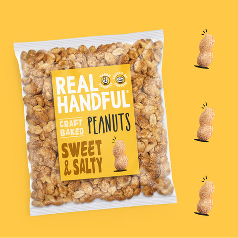 sweet and salty peanuts