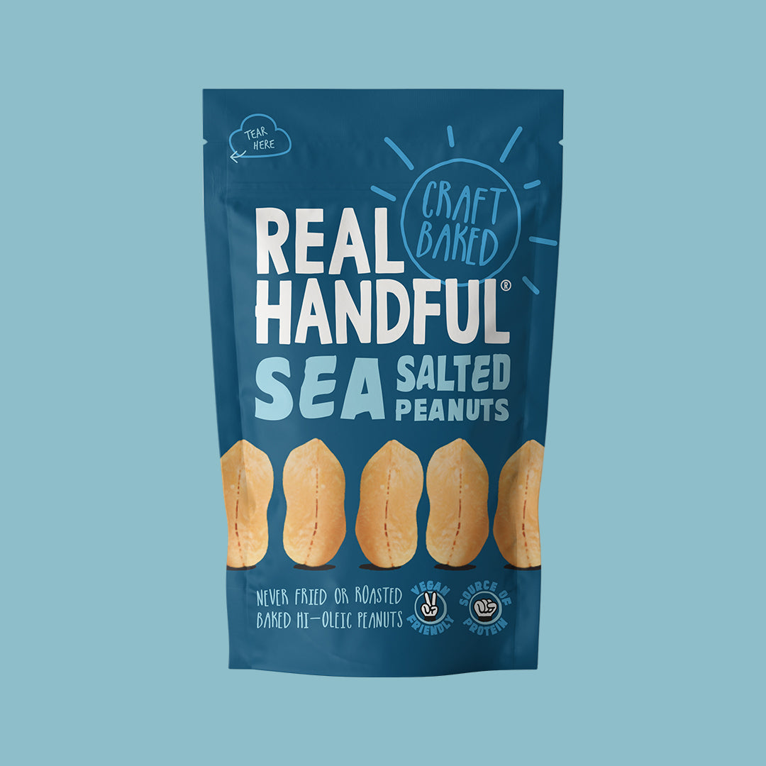 Sea Salted Peanuts (5 x 112g)